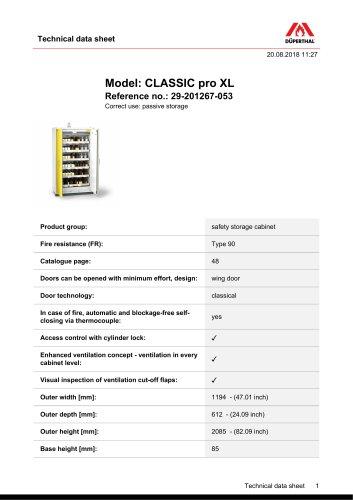 CLASSIC pro XL