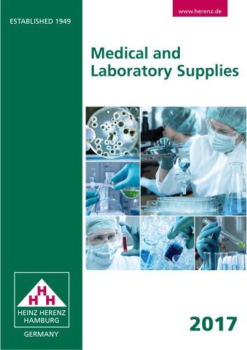 Medical and Laboratory Supplies