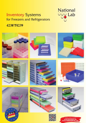 National Lab Inventory Systems for Freezers and Refrigerators