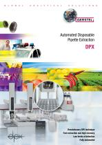 Automated Disposable Pipette Extraction DPX