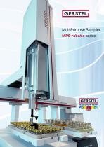 MultiPurpose Sampler MPS robotic series