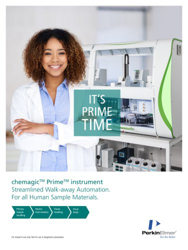 chemagicTM PrimeTM instrument