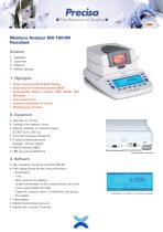 Moisture Analyzer EM 120-HR