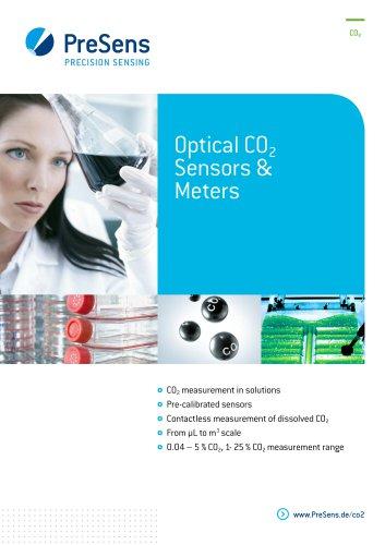 Optical CO2 Sensors & Meters