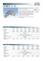 4 LOAD CELL STAINLESS STEEL SCALE - 1