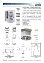 ADDITIONAL ADAPTER FOR PIPETTES CALIBRATION - 1