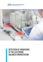 DETECTION OF VIBRATIONS AT THE ELECTRONIC BALANCES WORKSTATION - 1