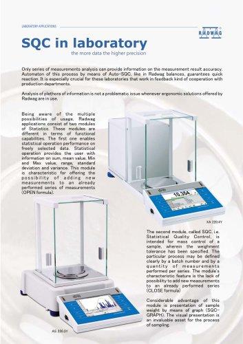SQC in laboratory