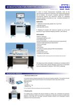 WORKSTATION FOR PIPETTES CALIBRATION - 1