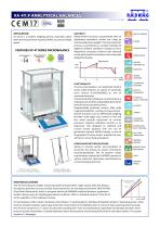 XA 4Y.F ANALYTICAL BALANCES - 1