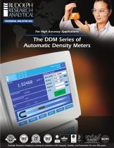 The DDM Series of Automatic Density Meters