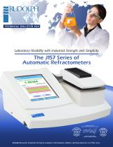 The J157 Series of Automatic Refractometers