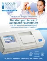 The Autopol ® Series of Automatic Polarimeters
