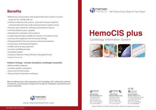 HemoCIS plus