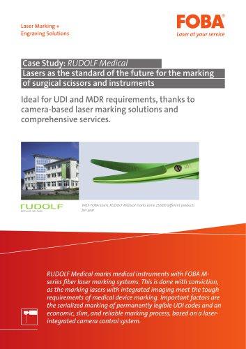 Customer Case Study Rudolf Medical