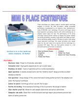 Mini 6 place centrifuge - 1