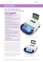 GS-1602/3202 Minica Personal Thermal Cycler