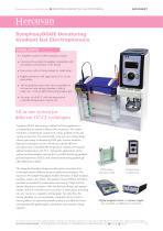 SymphonyDGGE Denaturing Gradient Gel Electrophoresis