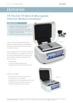 TT-70-2-S/ TT-60-4-S Microplate Thermo Shaker Incubator - 1