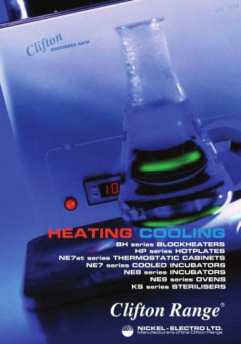 Hot Catalogue - Blockheaters, Hotplates, Incubators, Ovens, Sterilisers