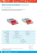 Hot Catalogue - Blockheaters, Hotplates, Incubators, Ovens, Sterilisers - 4