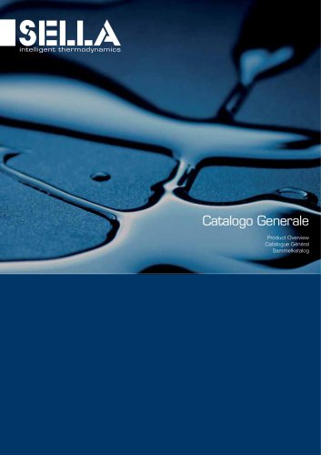 Catalogo Generale Product Overview