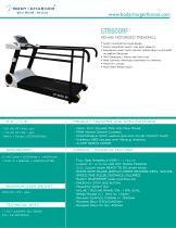 GT8600RF Rehab Motorized Treadmill