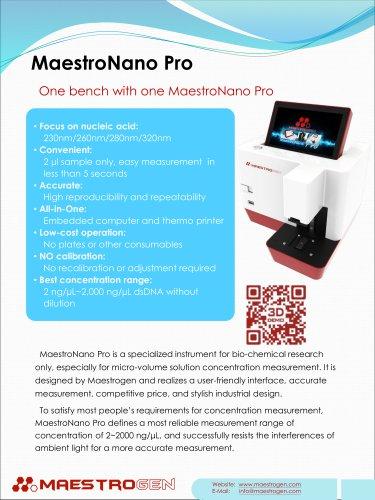 MaestroNano Pro
