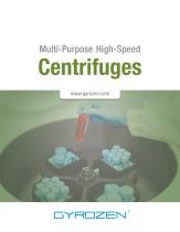 Multi-Purpose High-Speed Centrifuges