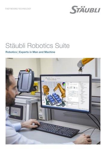 Stäubli Robotics Suite 2019