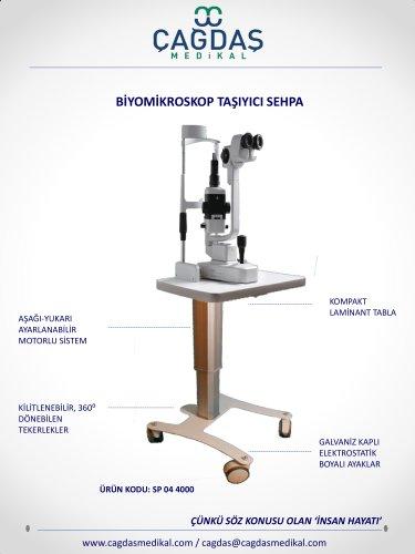 biomicroscopic table