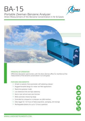 Benzene analyzer BA-15