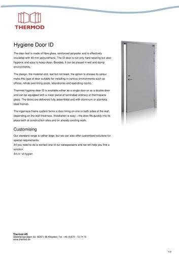 Hygiene Door ID