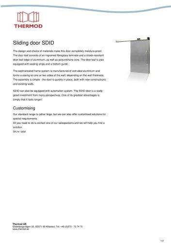 Sliding door SDID