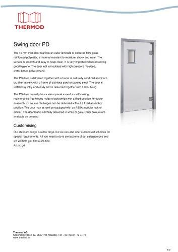 Swing door PD