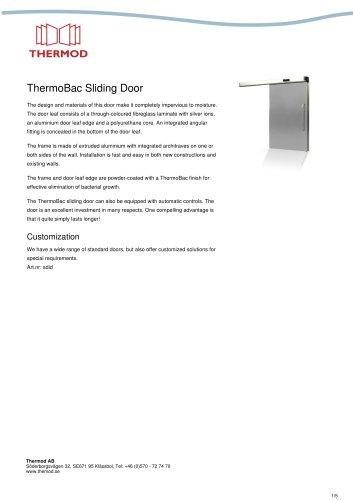 ThermoBac Sliding Door