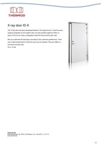 X-ray door ID-X
