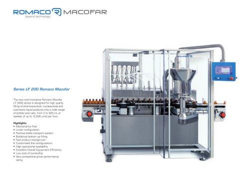 Series LF 200 Romaco Macofar