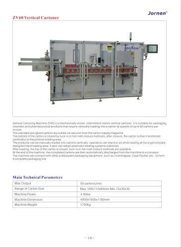 jornen ZV60 Vertical Cartoning Machine