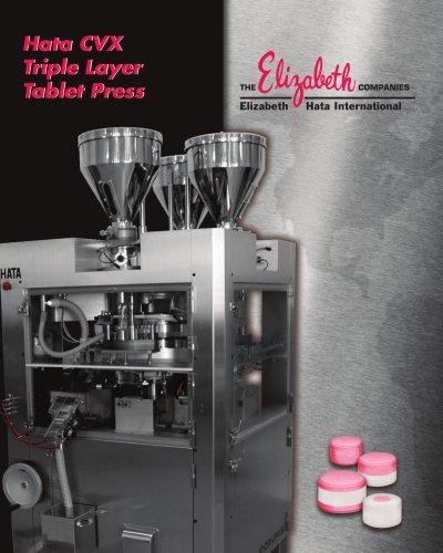 Hata CVX Triple Layer Tablet Press
