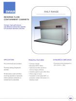 RHLF reverse flow cabinets