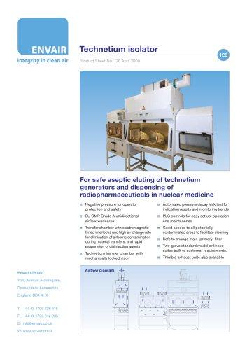 Technetium isolators