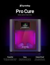 SprintRay Pro Cure