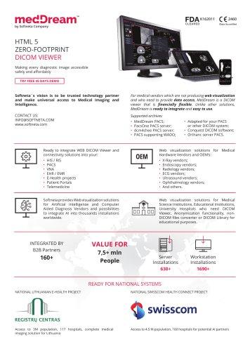 medDream DICOM VIEWER: Medical Imaging Solutions