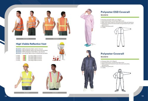 Polyester ESD Coverall
