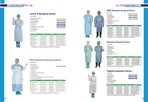 surgery gown
