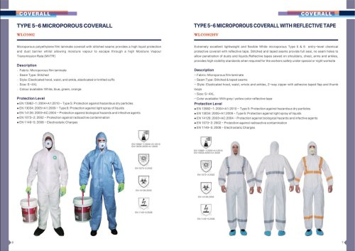 Type 5/6 Microporous Coverall