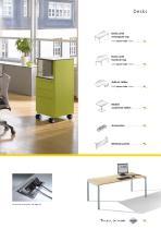 Desks, pedestals, and chairs - 10