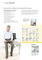 Desks, pedestals, and chairs - 11