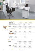 Desks, pedestals, and chairs - 15